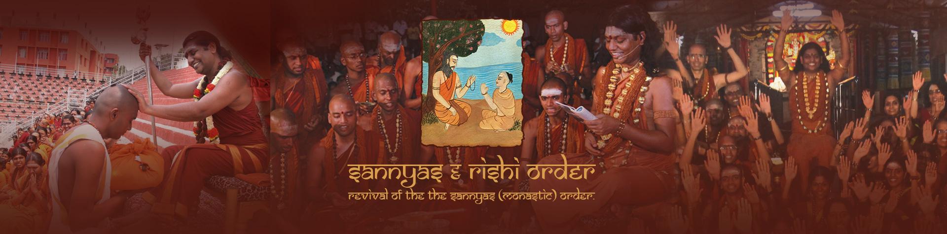 Sannyas and Rishi Orders