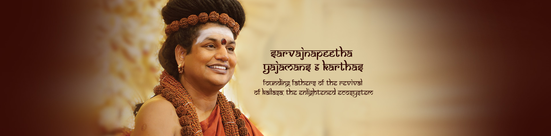 Founding fathers of the revival of Kailasa, the enlightened ecosystem